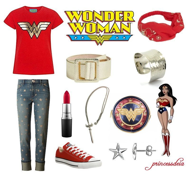 Wonder Woman Everyday Cosplay